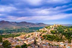 卡普德佩拉城堡在马略卡海岛,西班牙 免版税库存图片