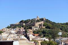 卡普德佩拉城堡  库存照片