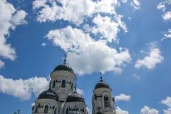 卡普里亚纳修道院 免版税库存图片