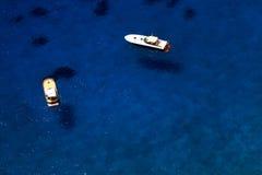 卡普里岛海岛,意大利,欧洲 图库摄影