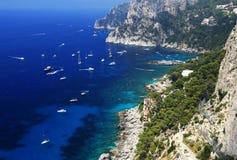 卡普里岛海岛,意大利,欧洲 库存图片