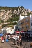 卡普里岛海岛-意大利 免版税库存图片