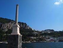 卡普里岛海岛  库存照片