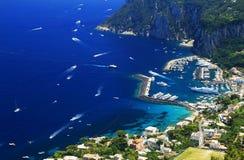 卡普里岛海岛 库存图片