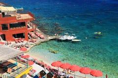 卡普里岛海岛 免版税库存照片