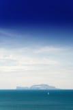 卡普里岛海  库存照片