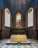 卡林Mansdotter,瑞典的女王/王后坟茔,在图尔库大教堂里,芬兰 免版税库存照片