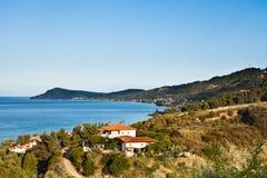 卡桑德拉哈尔基季基州希腊 免版税库存照片