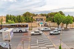 卡沙尼Rd寺庙在亚兹德 免版税图库摄影