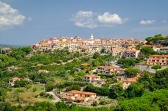 卡波利韦里, Isola d'Elba (意大利) 免版税库存图片