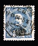 卡洛斯I, serie国王,大约1898 免版税库存照片