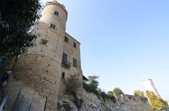 卡洛索堡垒城堡  库存图片