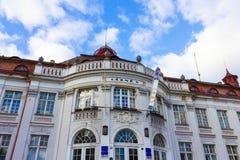 卡洛维变化, Cszech共和国- 2018年1月01日:伊丽莎白浴在卡洛维变化,捷克共和国 免版税库存照片