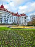 卡洛维变化, Cszech共和国- 2018年1月01日:伊丽莎白浴在卡洛维变化,捷克共和国 库存图片