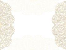 卡片设计框架模板 免版税库存图片