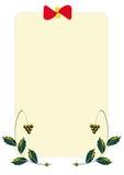 卡片设计 免版税库存照片