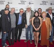 卡特勒恩Nolan参加`狗年` NY总理在2017年Tribeca电影节 免版税库存照片