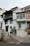 卡瓦拉市的住宅部分 免版税图库摄影
