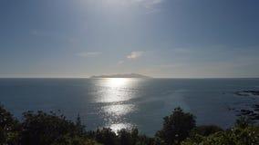 卡皮蒂岛NZ 免版税库存照片