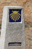 卡米尼亚Finisterre 库存照片