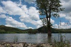 卡索利T湖  图库摄影