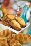 卡累利阿人的肉馅饼 免版税库存照片