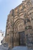 卡约埃尔考斯De La弗隆特里,安达卢西亚西班牙教会  免版税库存照片