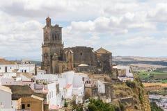 卡约埃尔考斯de la弗隆特里,西班牙看法  库存图片