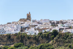 卡约埃尔考斯de la弗隆特里,西班牙看法  库存照片