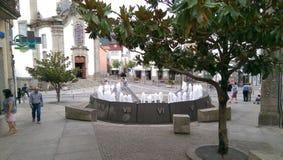 卡约埃尔考斯de Valdevez葡萄牙村庄  免版税库存图片