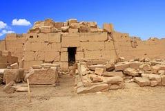 卡纳克神庙寺庙(西比)在卢克索 埃及 库存图片