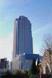 卡罗来纳州夏洛特街市北部 免版税库存照片