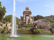 卡罗de la Aurora喷泉 免版税库存图片