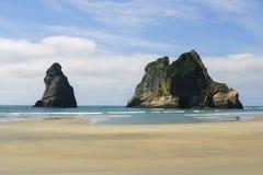 卡胡朗吉国家公园,新西兰的南岛 图库摄影