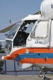 卡莫夫钾32驾驶舱 库存照片