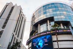 卡萨布兰卡公司财政大厦 免版税图库摄影