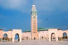 卡萨布兰卡哈桑ii摩洛哥清真寺 免版税库存照片