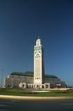 卡萨布兰卡哈桑ii清真寺 免版税图库摄影