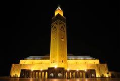 卡萨布兰卡哈桑ii清真寺 免版税库存照片