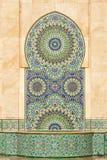 卡萨布兰卡详细资料哈桑ii清真寺 免版税库存图片
