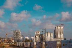 卡萨布兰卡运输和建筑学 库存照片