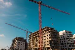 卡萨布兰卡运输和建筑学 免版税库存照片