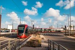 卡萨布兰卡运输和建筑学 库存图片