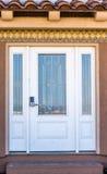 卡萨布兰卡门入口外部哈桑ii摩洛哥清真寺 图库摄影