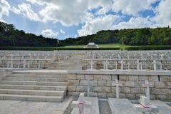 卡西诺,意大利, 6月01日:波兰战争公墓在卡西诺, 2016年6月01日的意大利 免版税图库摄影