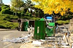 卡车事故 图库摄影