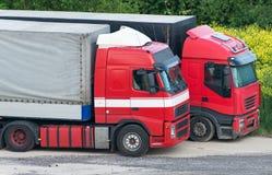 卡车二 免版税库存照片