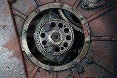 卡车发动机零件 免版税库存图片