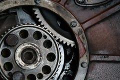 卡车发动机零件 免版税库存照片