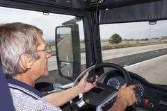 卡车司机收音机 库存图片